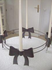 Tischkerzenständer Eisenring Eisenkerzenleuchter Eisenreif Tischleuchter