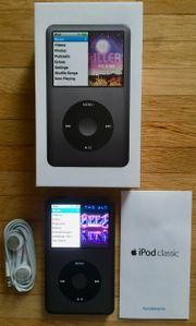 iPod classic 160GB schwarz kaum