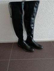 Overknee Stiefel - nie getragen