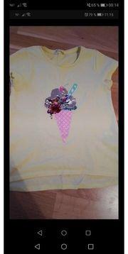 T shirt Mädchen Gr 122