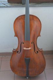 Cello Violincello mit Zettel