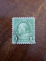 Briefmarke - United States Postage 1