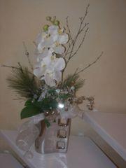 Orchideegesteck künstlich sehr modern