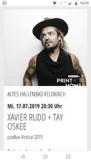 Konzert-Tickets für Xavier Rudd 17
