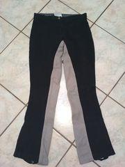 Reithose Jodhpur Equlibre schwarz-grau Gr