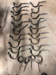 Dachrinnenhaken Kupferummantelt
