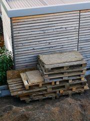 Europaletten und Diverses Holz