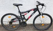JEEP 21-Gang Alu-Mountainbike voll gefedert