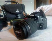 Nikon D5500 Spiegelreflexkamera inkl viel