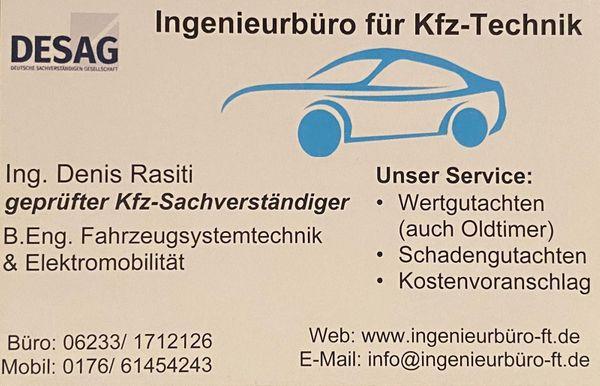 Wertgutachten für Fahrzeuge aller Art