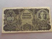 100 Schilling Banknote zu verkaufen