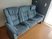Couch blau Stressles