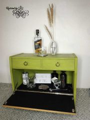 Retro Minibar Kommode Nachttisch DIY