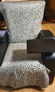 Fernsehsessel Gamer-Sessel mit Liegefunktion Tisch