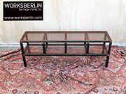 Lowboard aus Stahl TV-Board Sideboard Sitzbank