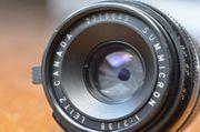 Leica 35mm Summicron f2 M