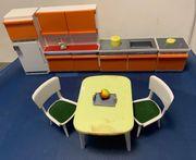 Ca 50-60j Puppenmöbel Küche und