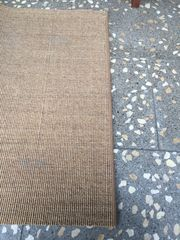 Teppich Läufer Boucle beige rutschfest