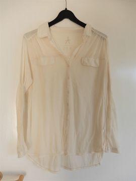 Transparente Langarm-Bluse v Atmosphere -beige: Kleinanzeigen aus Schwetzingen - Rubrik Damenbekleidung
