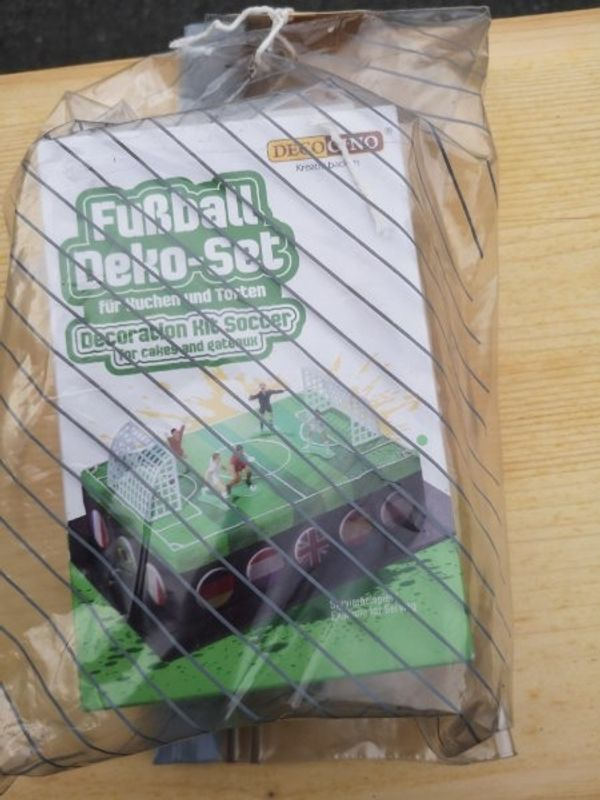 Kuchen Deko für Fussballbegeisterte