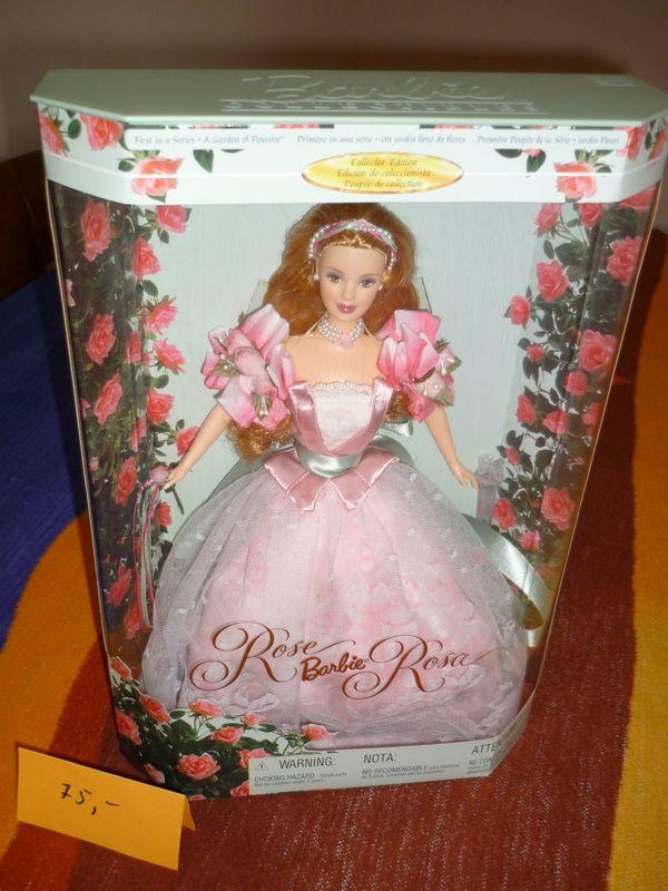 Rose Barbie Rosa A Garden