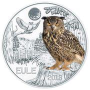 3 EUR Tier Taler - Eule -