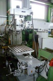 Zimmermann Werkzeugfräsmaschine Bohr und Fräsmaschine