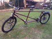 Reise-Tandem Fahrrad Lehner Basel fahrbereit