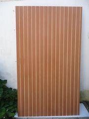 Profil-Sperrholz-Platten in verschiedenen Holzarten und