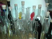Gläser Vasen Karaffen Flaschen 2er-Set
