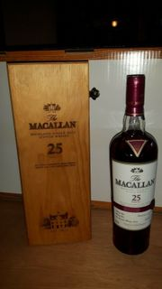 Macallan WHISKY Oak 25 Jahre