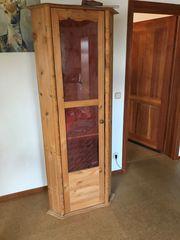 Verkaufe Eckschrank Holz