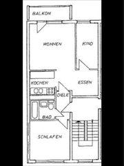 Schöne 3 Raumwohnung