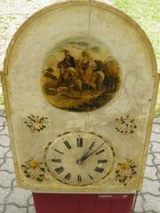Alte Flötenwanduhr um 1820 Original