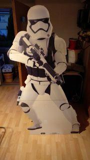 Star Wars Stormtrooper Pappaufsteller Deko