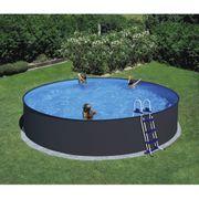 Pool anthrazit OxH 450 x