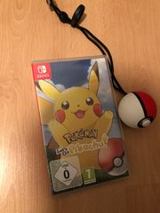 Pokemon lets go pikachu inkl