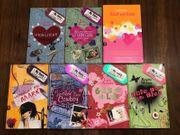 Verschiedene Mädchen- Bücher zu verkaufen