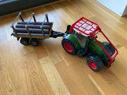 Traktor mit Anhänger von BRUDER