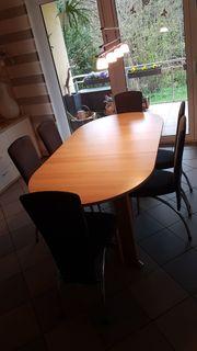 Tisch zum Ausziehen - Eiche