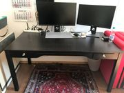 IKEA Schreibtisch schwarz