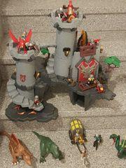 Großes Playmobil-Set Große Playmobil Drachenritterburg