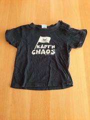 T-Shirt Jungs Größe 92 dunkelblau