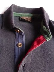 Headlands Pullover mit Kragen blau