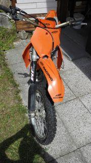 KTM Supercross Rennmaschine