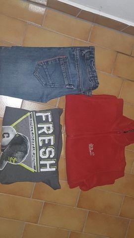 Bild 4 - kinderkleidung jungen 122-152 getragen Hosen - Obersulm