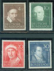 Bund postfrisch Nr 143-146 ohne