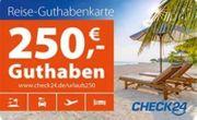 CHECK 24 Gutschein 250 EUR