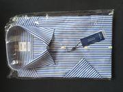 Olymp Herrenhemd OVP kurzärmlig bügelfrei
