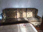 Wohnzimmerschrank Couch Sessel TV Bank